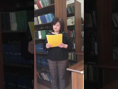 «Հայկական առածանի» Ներկայացնում է Տիգրանուհի Բեգլարյանը